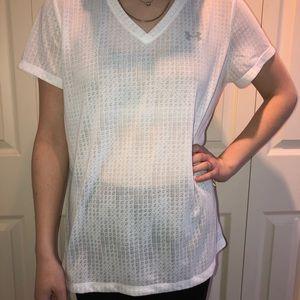 White Under Armour tshirt L never worn